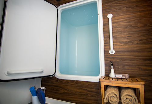 Summer Sky float tank