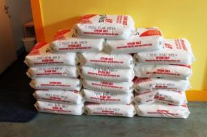 Epsom salt bags