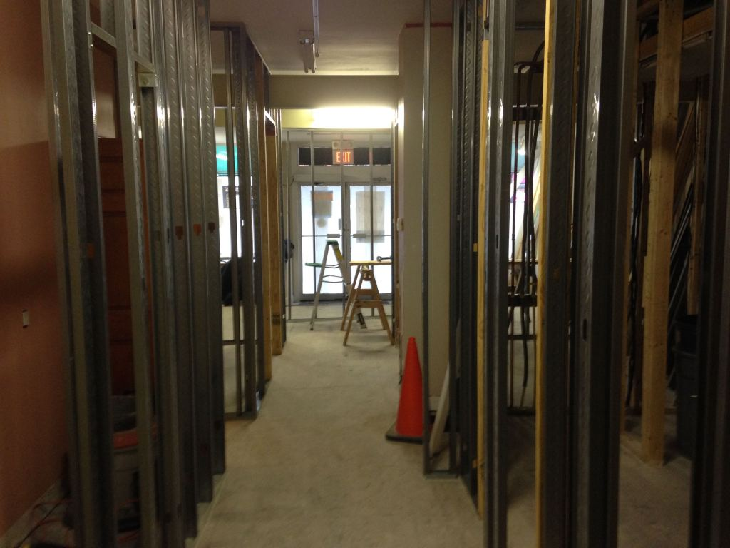 Framing the float rooms